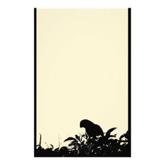 Amazon Parrot in Tree Stationery