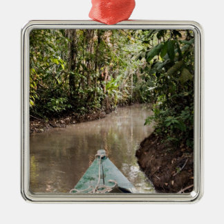 Amazon Rainforest, Puerto Maldanado, Peru. Christmas Ornament