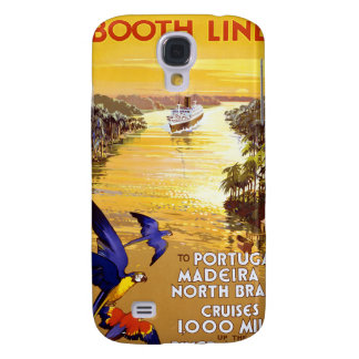 Amazon River Booth Line Galaxy S4 Case