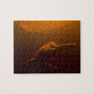 Amazon River Dolphin (Inia geoffrensis) or Boto, Jigsaw Puzzle