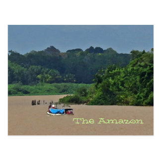 Amazon River Scene  Postcard