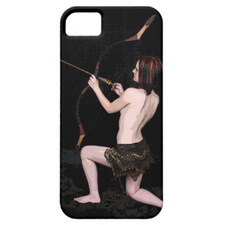 """Amazon Warrior"" Fantasy Archer  Iphone Five Case iPhone 5 Covers"