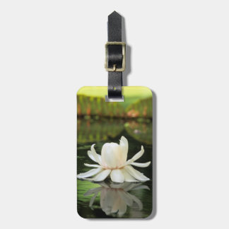 Amazon Water Lily (Victoria Amazonica) Flower Luggage Tag