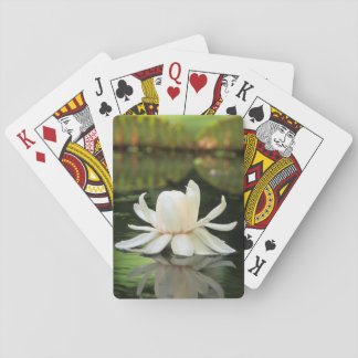 Amazon Water Lily (Victoria Amazonica) Flower Playing Cards
