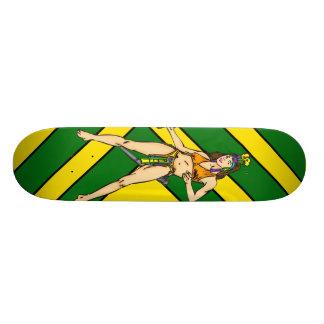 Amazon Women Warriors Custom Skateboard