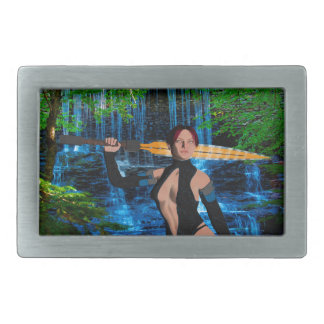 Amazonian Woman Belt Buckle
