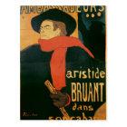 Ambassadeurs: Aristide Bruant, 1892 Postcard