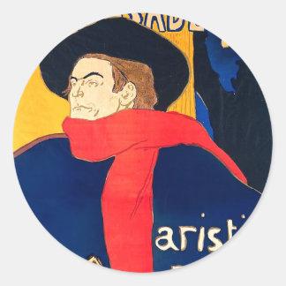 Ambassadeurs Aristide Bruant dans son Cabaret Stickers