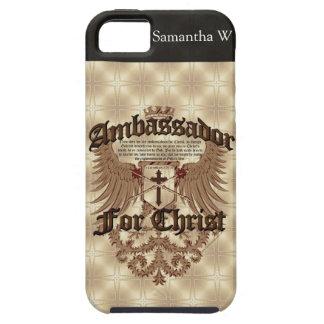 Ambassador For Christ, Corinthians Bible Verse iPhone 5 Case