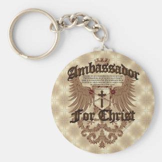 Ambassador For Christ, Corinthians Bible Verse Key Ring