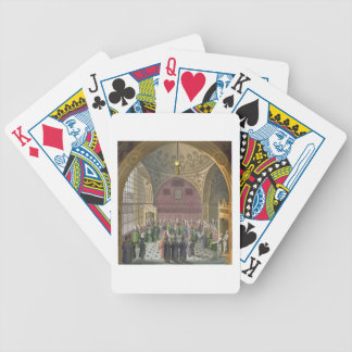 Ambassadors in the Audience Hall of the Grand Vizi Bicycle Playing Cards