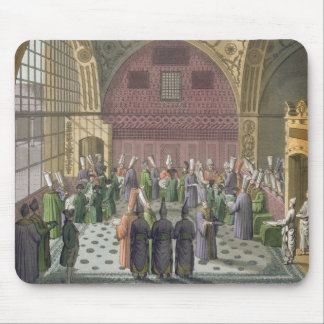 Ambassadors in the Audience Hall of the Grand Vizi Mouse Pad
