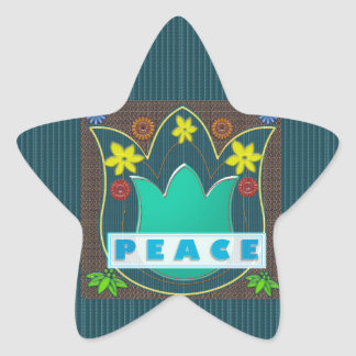 Ambassdor of PEACE Society Nations Artistic GIFTS Star Stickers