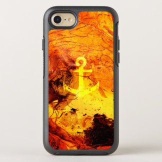 Amber anchor nautical OtterBox symmetry iPhone 8/7 case