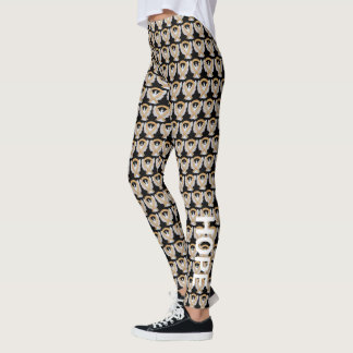 Amber Awareness Ribbon Angel Art Leggings