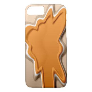 Amber Blotch iPhone 7 Case