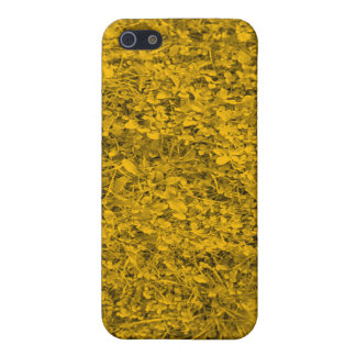Amber colored Grass iPhone 5/5S Cases