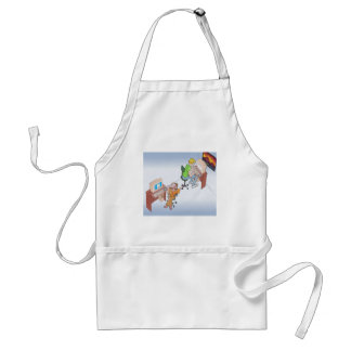 Amber & Drew anime art gallery characters Standard Apron