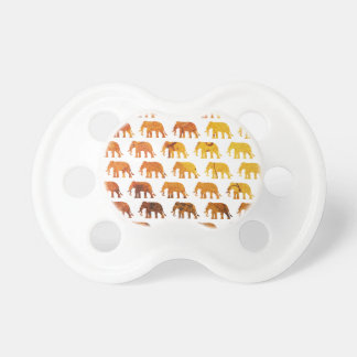 Amber elephants pattern custom background color dummy