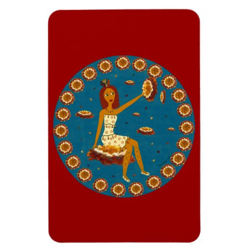 Amber Faerie Rectangle Magnet