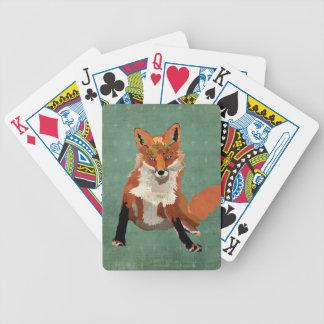 Amber Fox Card Deck