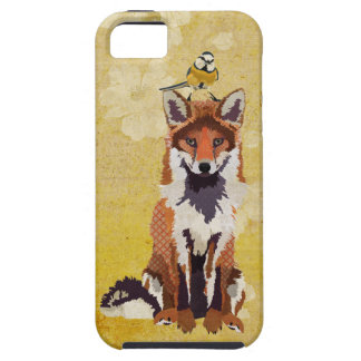 Amber Fox & Little Blue Bird Case