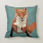 Amber Fox Pillow