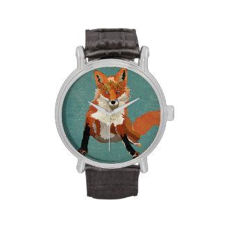 Amber Fox Watch