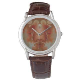 Amber Fractal Watch
