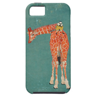 Amber Giraffe & Little Blue Bird Case