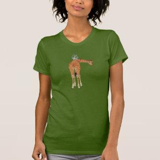 Amber Giraffe & Owl Shirt