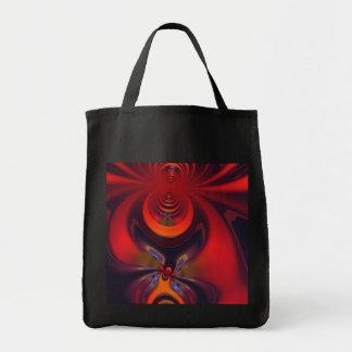 Amber Goddess – Orange and Gold Passion Canvas Bag