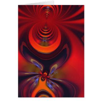 Amber Goddess – Orange and Gold Passion Card