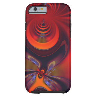 Amber Goddess – Orange and Gold Passion Tough iPhone 6 Case