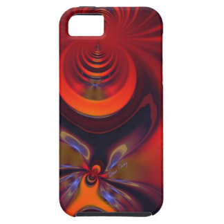 Amber Goddess – Orange and Gold Passion iPhone 5 Case