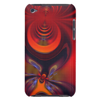 Amber Goddess – Orange and Gold Passion iPod Touch Covers
