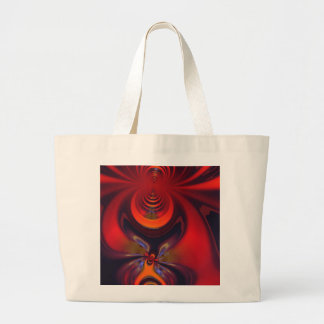 Amber Goddess – Orange and Gold Passion Jumbo Tote Bag