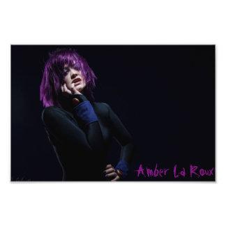 Amber La Roux as Raven Art Photo