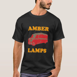 AMBER LAMPS (Black) T-Shirt