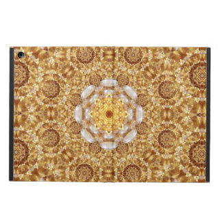 Amber Mandala Case For iPad Air