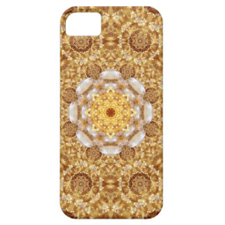 Amber Mandala Case For The iPhone 5