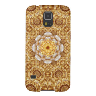 Amber Mandala Cases For Galaxy S5