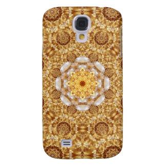 Amber Mandala Galaxy S4 Case