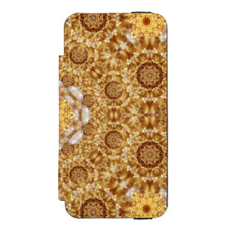 Amber Mandala Incipio Watson™ iPhone 5 Wallet Case