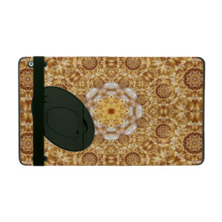 Amber Mandala iPad Cover
