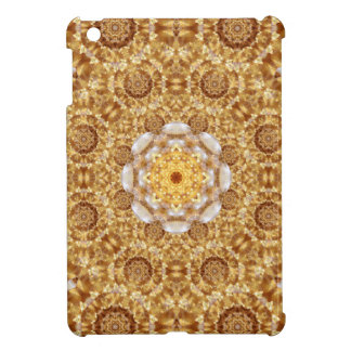 Amber Mandala iPad Mini Case