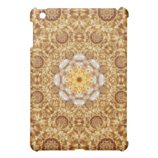 Amber Mandala iPad Mini Cover