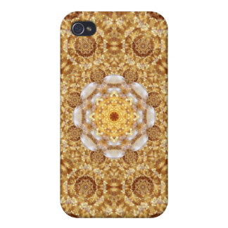 Amber Mandala iPhone 4 Cases