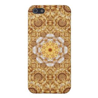 Amber Mandala iPhone 5/5S Covers