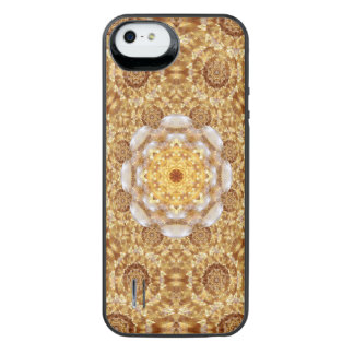 Amber Mandala iPhone SE/5/5s Battery Case